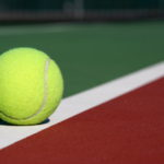 TennisBallOnCourt
